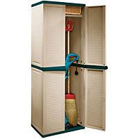 Keter Medium Storage Cabinet - 177 x 65 x 45cm