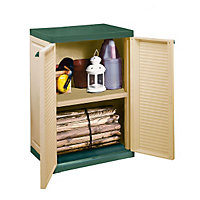 Keter Compact Garden Storage Cabinet - 2ft 2in x 1ft 6in