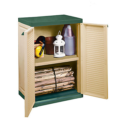 Image for Keter Compact Garden Storage Cabinet - 2ft 2in x 1ft 6in from StoreName