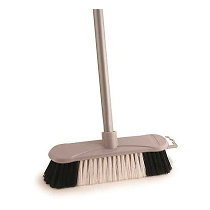 Image for Soft Broom with Handle - Silver from StoreName