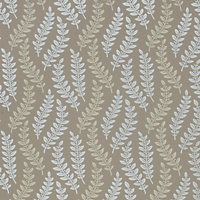 Laura Ashley - Fenton - Flannel - Wallpaper
