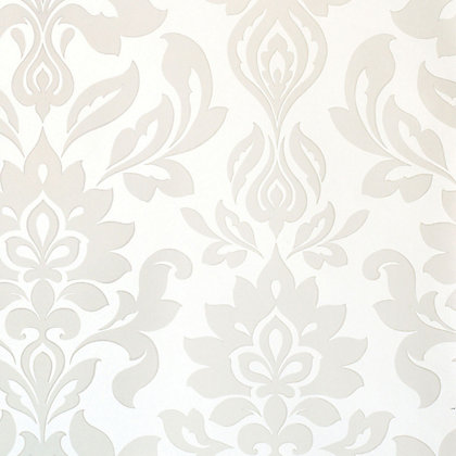 Image for Laura Ashley - Hampstead - White - Wallpaper from StoreName