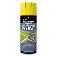 Rust-Oleum Blackfriar Yellow - Line Marking Paint - 400ml