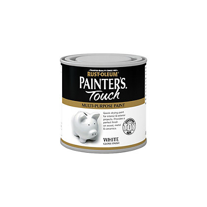 Image for Rust-Oleum White - Gloss Painters Touch - 250ml from StoreName