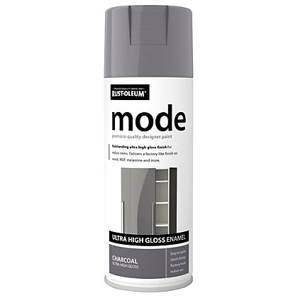 Image for Rust-Oleum Charcoal - Mode Spray Paint - 400ml from StoreName