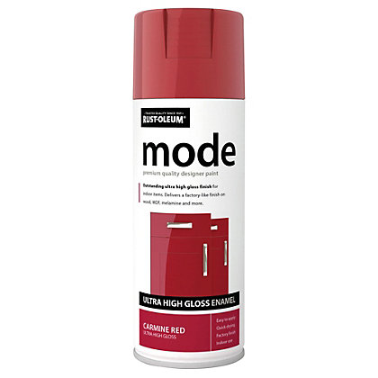 Image for Rust-Oleum Carmine Red - Mode Spray Paint - 400ml from StoreName