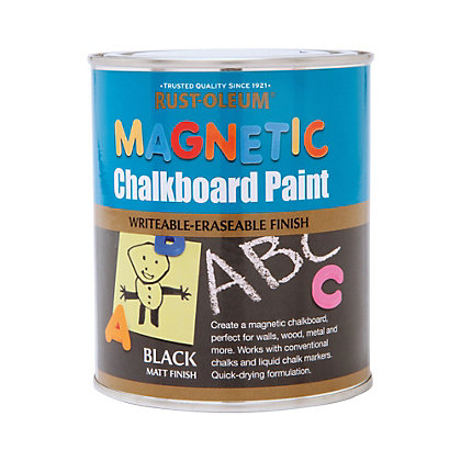 Image for Rust-Oleum Magnetic Chalkboard Paint - 750ml from StoreName