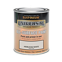 Rust-Oleum White - Gloss Paint - 750ml