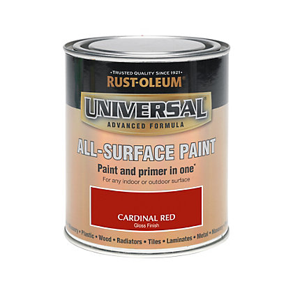 Image for Rust-Oleum Cardinal Red - Gloss Paint - 750ml from StoreName