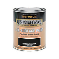 Rust-Oleum Espresso - Gloss Paint - 750ml