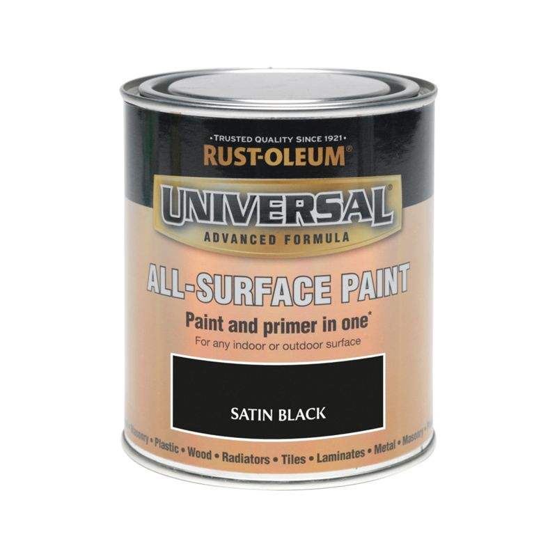 all surface black satin paint is an advanced paint and primer in. Black Bedroom Furniture Sets. Home Design Ideas
