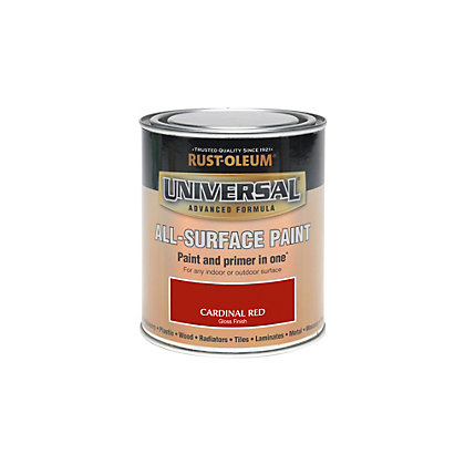 Image for Rust-Oleum Cardinal Red - Gloss Paint - 250ml from StoreName