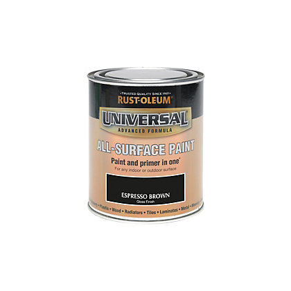 Image for Rust-Oleum Espresso - Gloss Paint - 250ml from StoreName