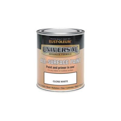 Rust-Oleum White - Gloss Paint - 250ml