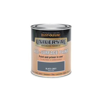 Rust-Oleum Slate Grey - Gloss Paint - 250ml