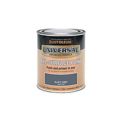 Image for Rust-Oleum Slate Grey - Gloss Paint - 250ml from StoreName