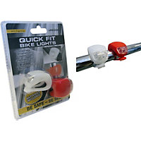 Silicone Bike Lights - Pack of 2