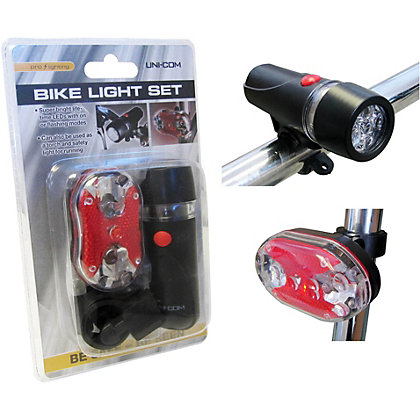 Image for LED Front and Rear Bike Light from StoreName