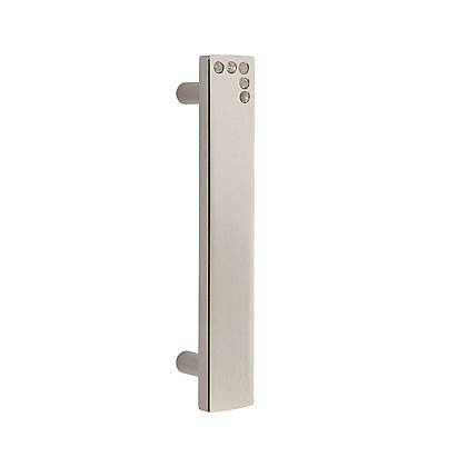 Image for Square Diamante Pull Handle 96mm Nickel from StoreName