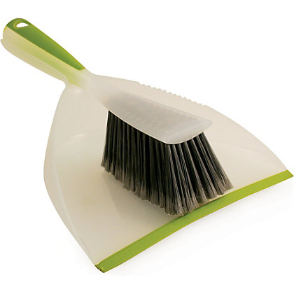 Image for Hourglass Dustpan And Brush Set from StoreName