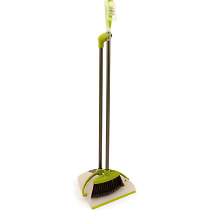 Image for Hourglass Lobby Dustpan And Brush Set from StoreName