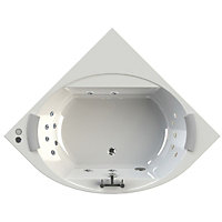 Olney Luxury Corner Bath- Platinum Whirlpool