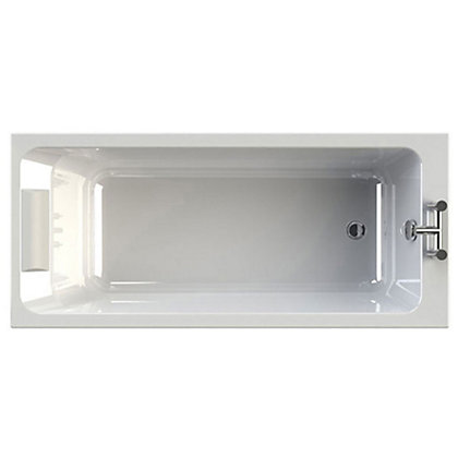 Image for Olney Single Ended Bath - Platinum Whirlpool from StoreName