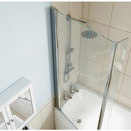 Image for Olney Shower Bath Screen- Left Hand from StoreName