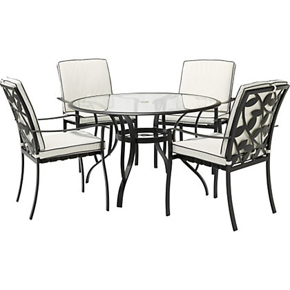 Lucca 4 Seater Garden Furniture Set