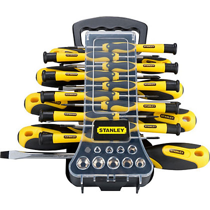 Image for Stanley 49 Piece Screwdriver Set from StoreName