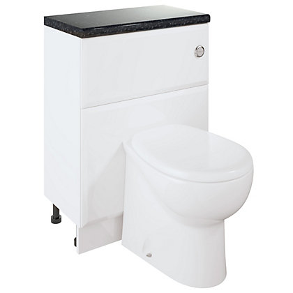 Image for Winchester Bathroom W/C Unit and WC - White from StoreName