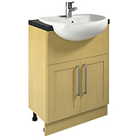 400mm vanity unit and basin walnut the cannock cloakroom 400mm vanity - Search Results