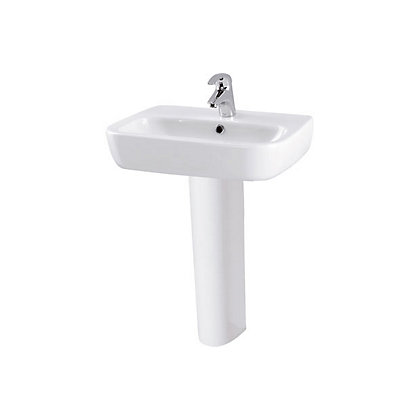 Image for Facile Basin and Full Pedestal - 55cm from StoreName
