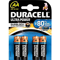 Duracell Ultra Batteries AA - 4 Pack