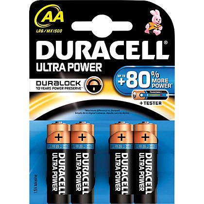 Image for Duracell Ultra Batteries AA - 4 Pack from StoreName