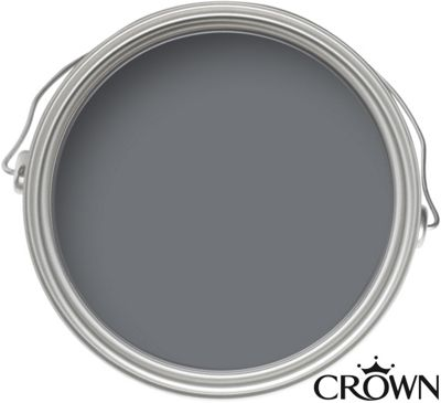 Crown Kitchen and Bathroom Breatheasy Slate Grey - Matt Paint - 2.5L