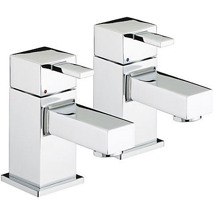 Image for Bristan Quadrato Bath Taps from StoreName