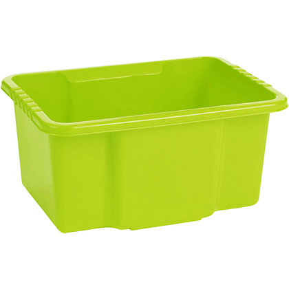 Image for Stack And Store 10 Litre Storage Tub - Green from StoreName