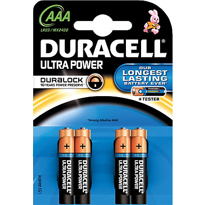 Image for Duracell Ultra Batteries AAA - 4 Pack from StoreName