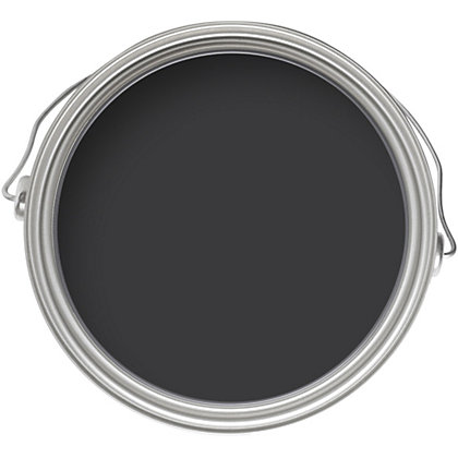 Image for Homebase Weathercoat Black - Smooth Matt Masonry Paint - 5L from StoreName