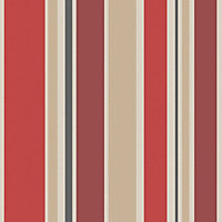 Home Of Colour - Empire - Wallpaper - Flame Red