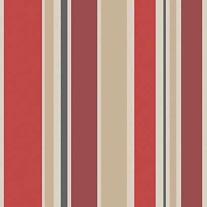 Image for Home Of Colour - Empire - Wallpaper - Flame Red from StoreName