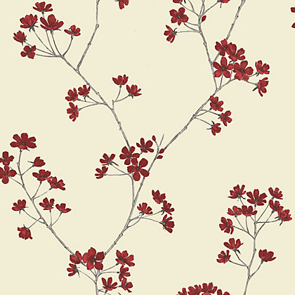 Image for Home Of Colour - Harmony - Wallpaper - Flame Red from StoreName
