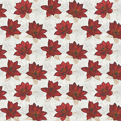 Image for Home Of Colour - Waterlily - Wallpaper - Flame Red from StoreName