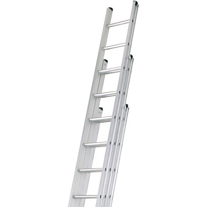 Image for Abru 3.4m Professional Triple Extension Ladder from StoreName