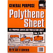 General Purpose Polythene Sheet - 3 x 4m