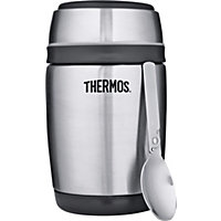 ThermoCafe by Thermos 0.4 Litre Barrel Flask with Spoon.