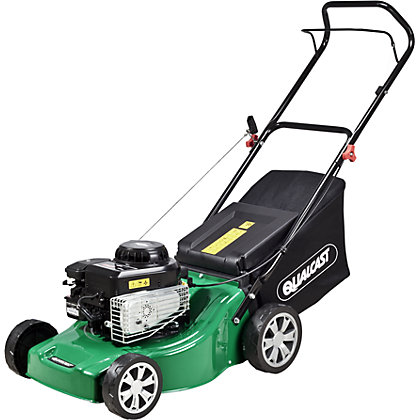 Image for Qualcast 125cc Push Petrol Rotary Lawn Mower - 41cm from StoreName