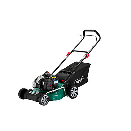 Image for Qualcast 125cc Self-Propelled Petrol Rotary Lawn Mower - 46cm from StoreName