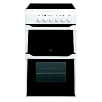 Indesit IT50CW S Freestanding Cooker - White